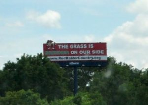 RRC Billboard - Grass is Green on Our Side