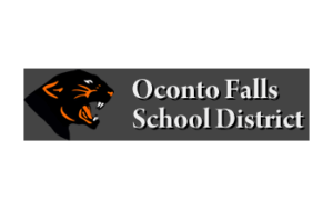 Oconto Falls School District Logo