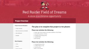 Red Raider Field of Dreams