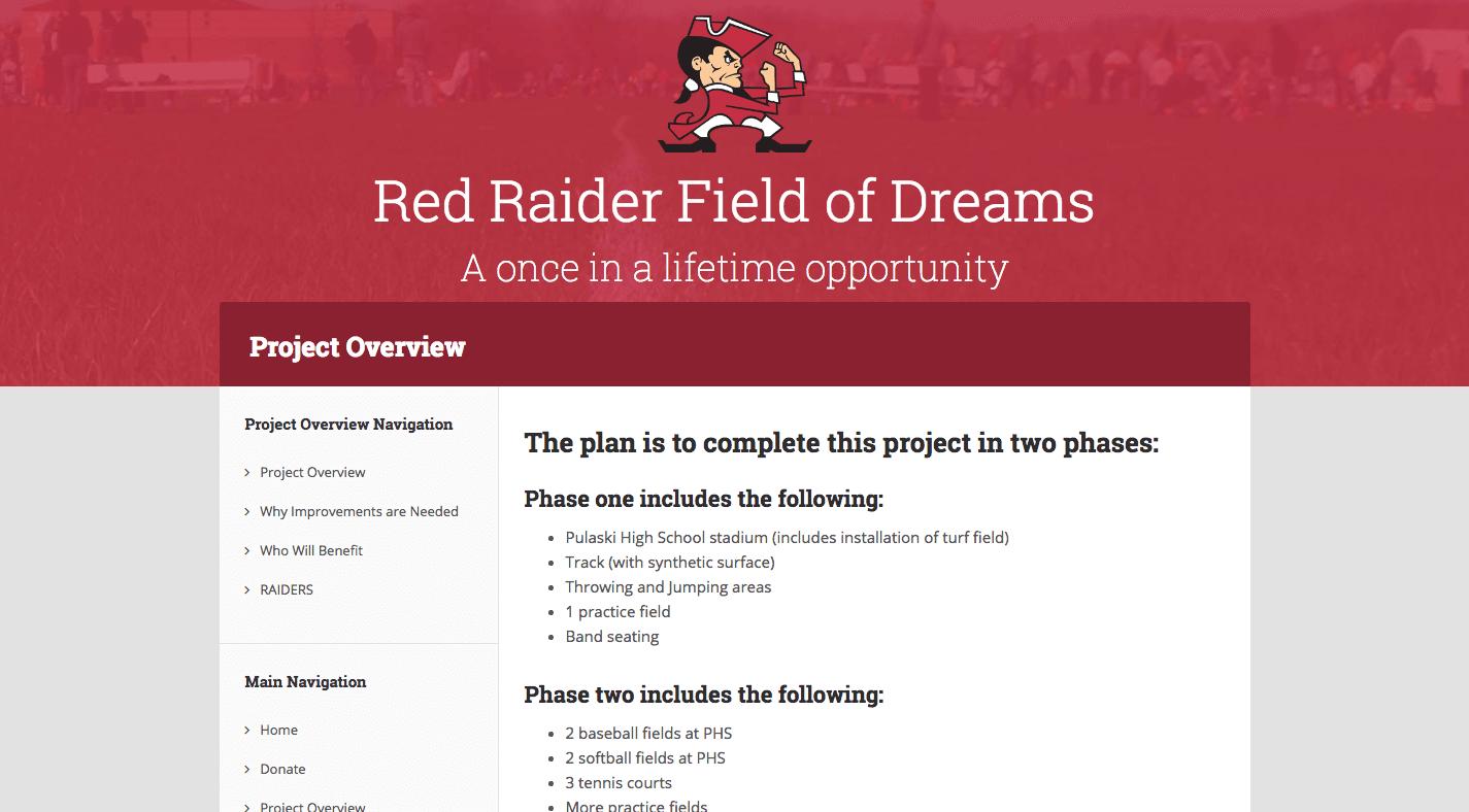 Red Raider Field of Dreams